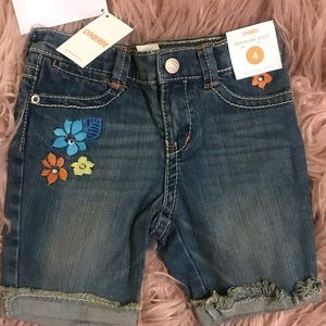 Girls New with Tags Bermuda Jeans Shorts Sz. 4
